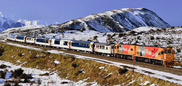 TranzAlpine Train Services Christchurch to Greymouth